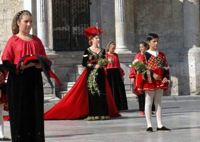 Dama di Porta Tufilla - corteo storico