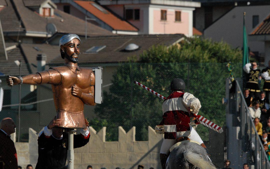 Sabato e domenica i cavalieri giostranti tornano in pista