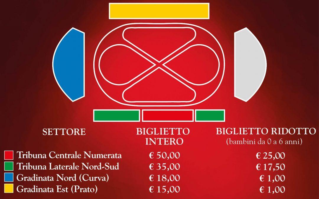 Biglietti in vendita per assistere alle Giostre della Quintana di Ascoli